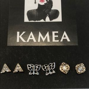 Kameakay stud earrings (3pair)